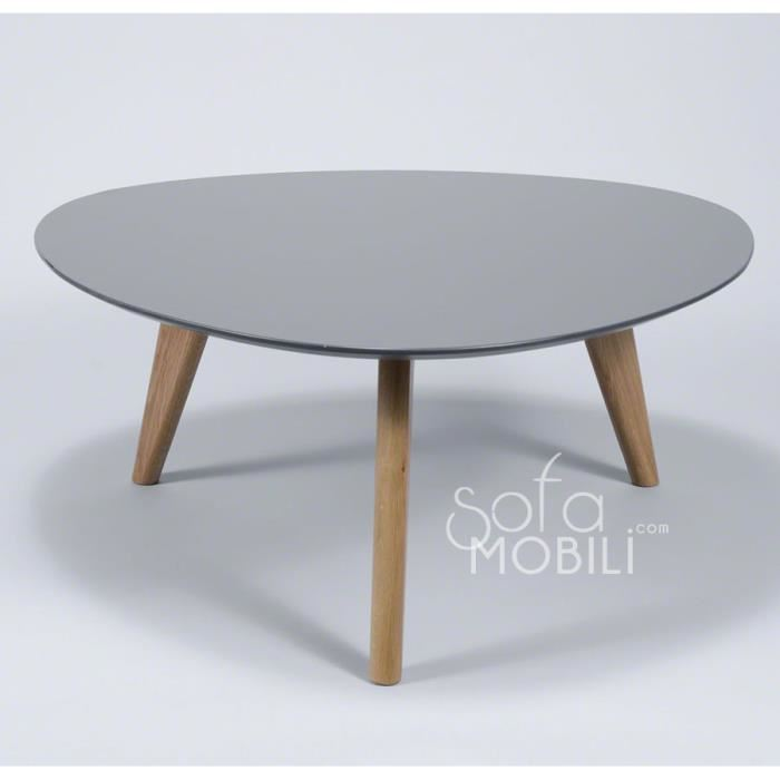 Table basse scandinave blanche cdiscount