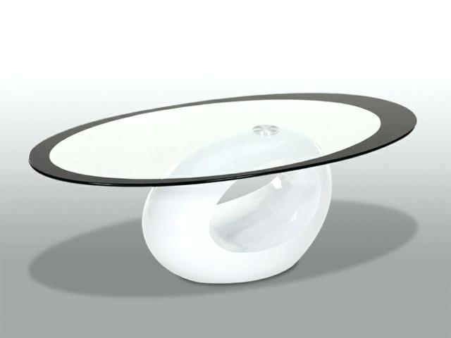 Table basse salon ronde ou ovale