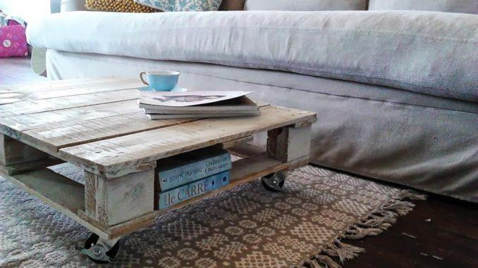 Fabriquer table basse palette en bois