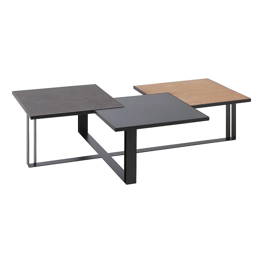 Table basse ceramique et bois