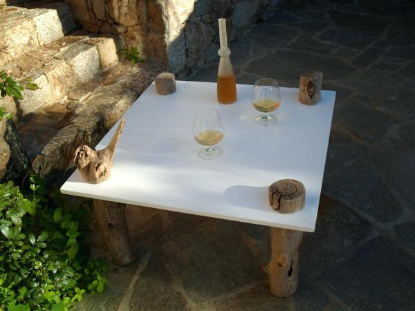 Tuto table basse bois