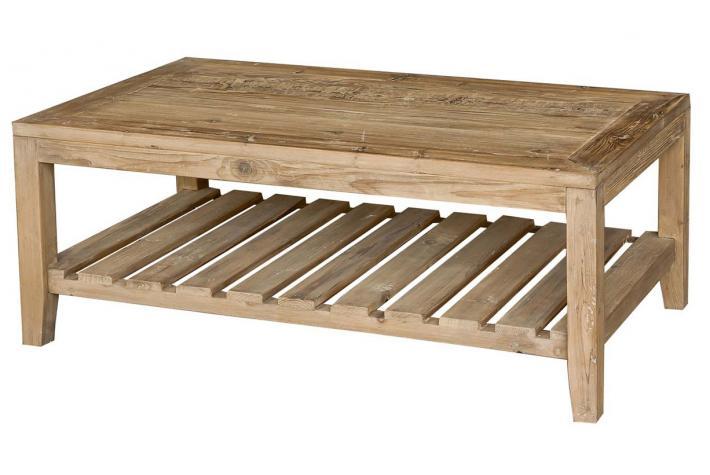 Table basse bois soldes