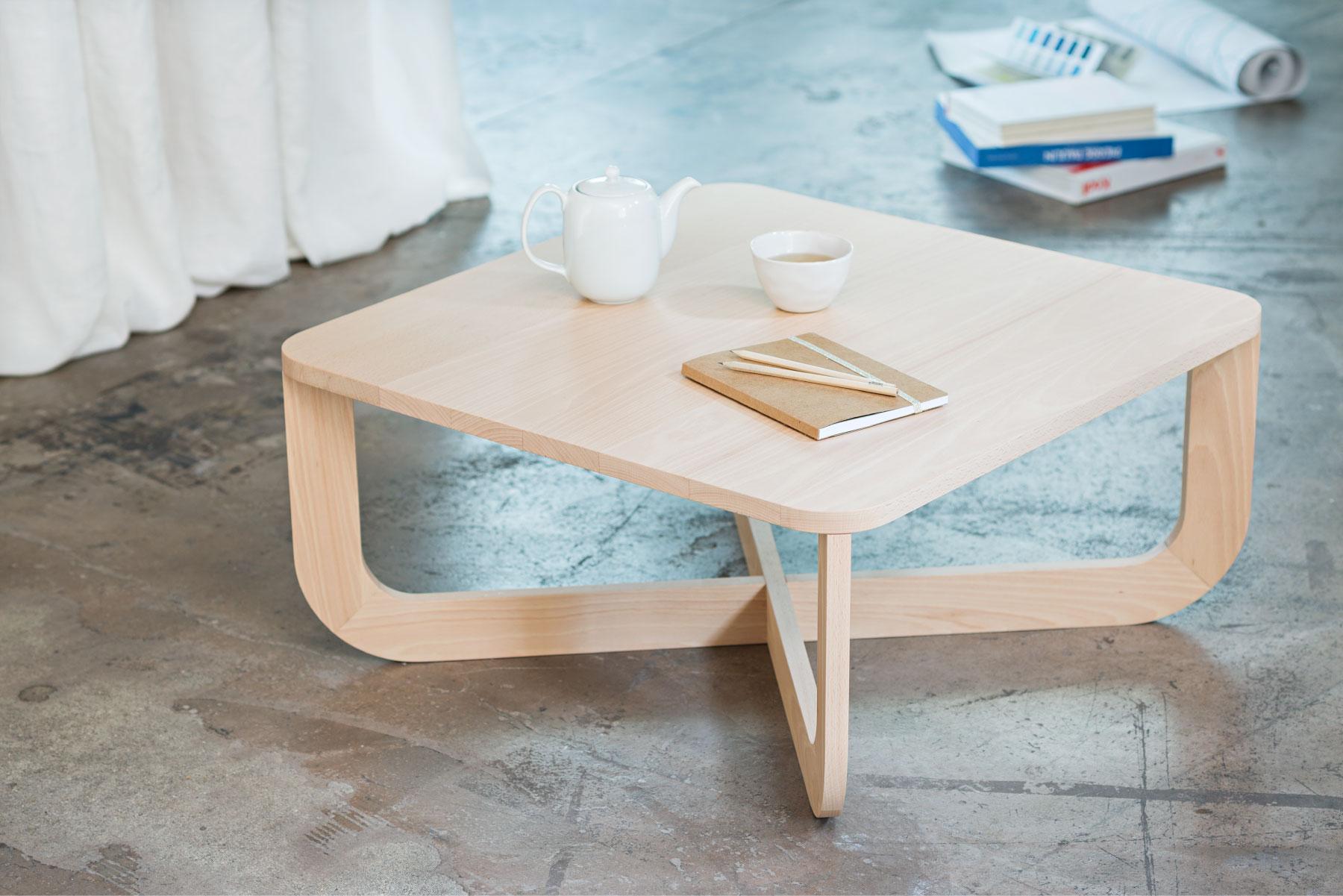 Modèle table basse en bois