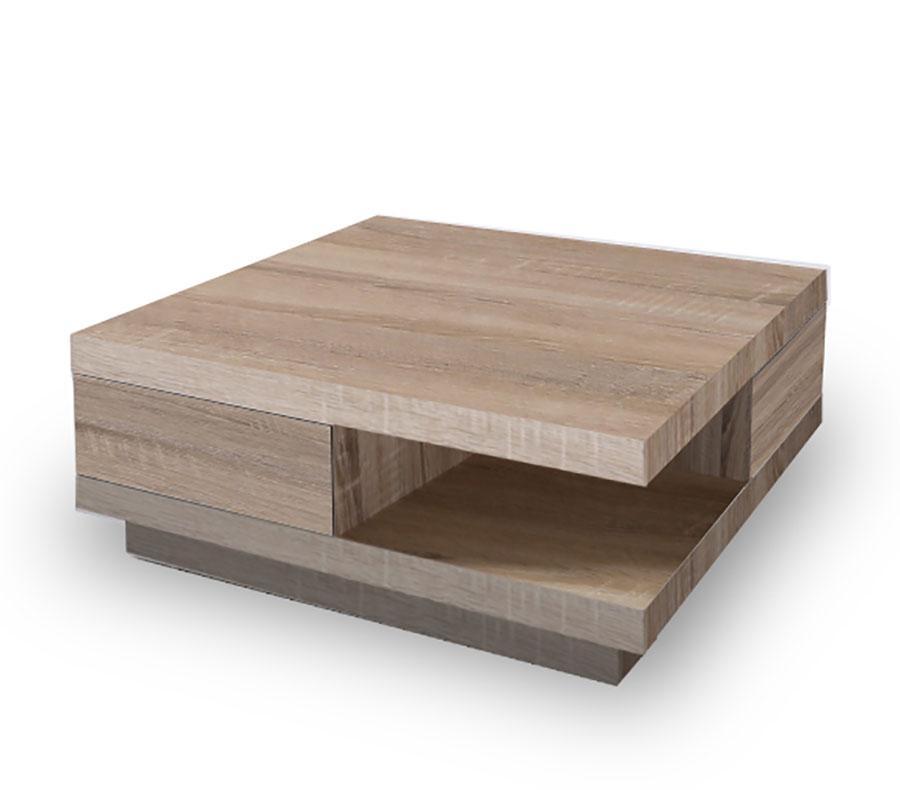 Table basse bois moderne