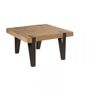 Table basse carrée bois occasion