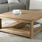 Table basse carrée 100×100 bois