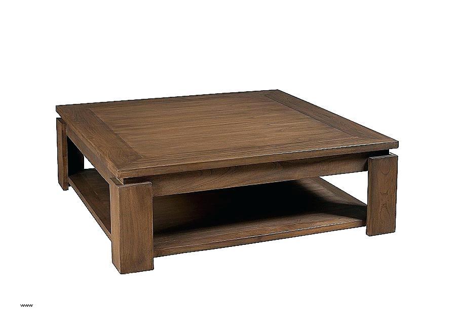 Table basse en bois 1mx1m