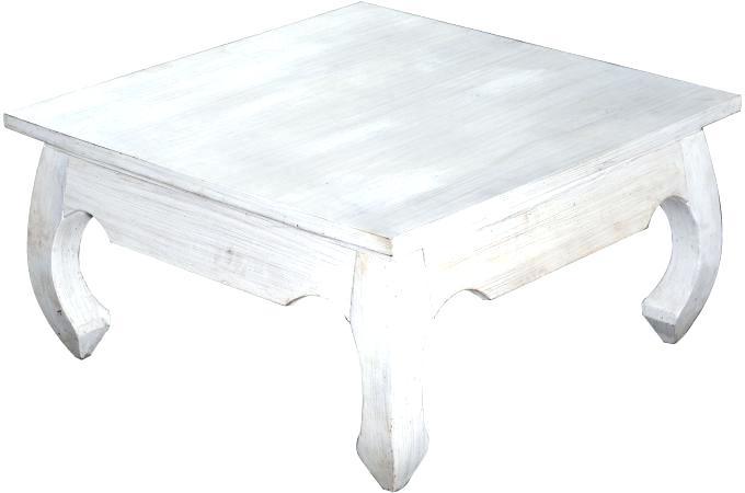 Table basse carrée scandinave pas cher