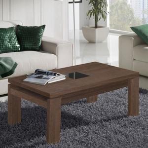Table basse relevable ferguson chêne clair