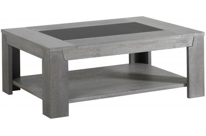 Table basse en bois rectangulaire pas cher