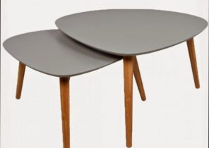 Table basse scandinave 60 cm