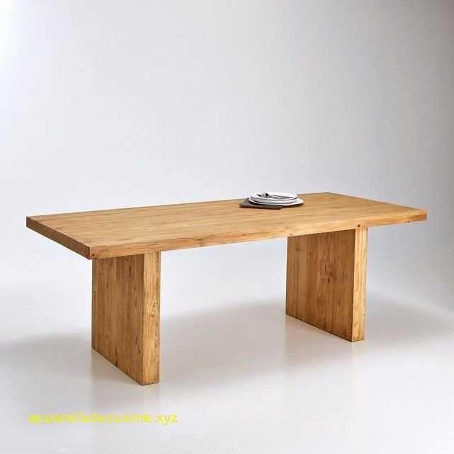 Table basse relevable bouleau