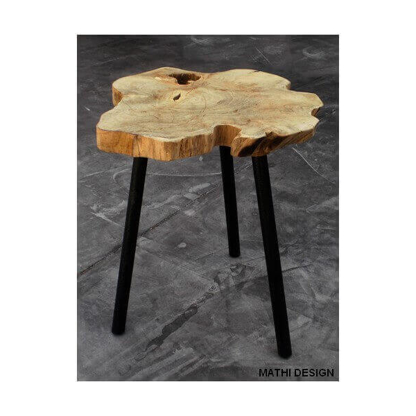 Table basse d'appoint scandinave