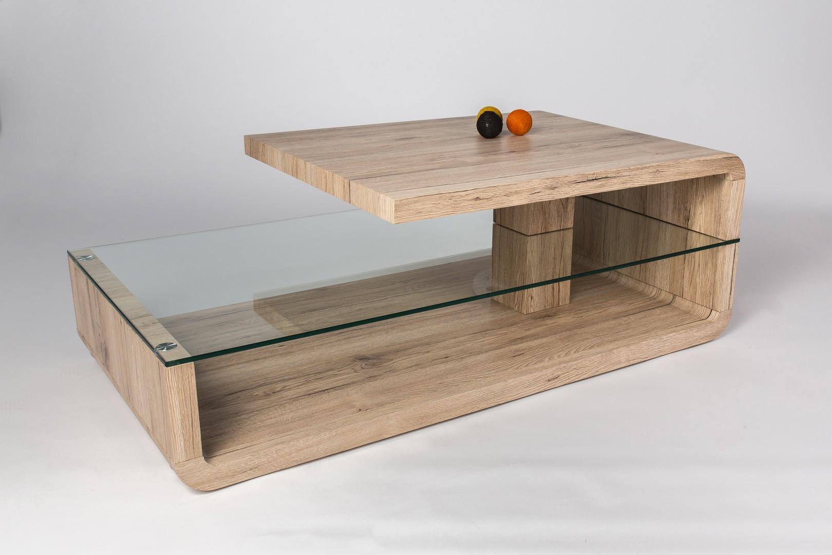 Table basse bois hetre