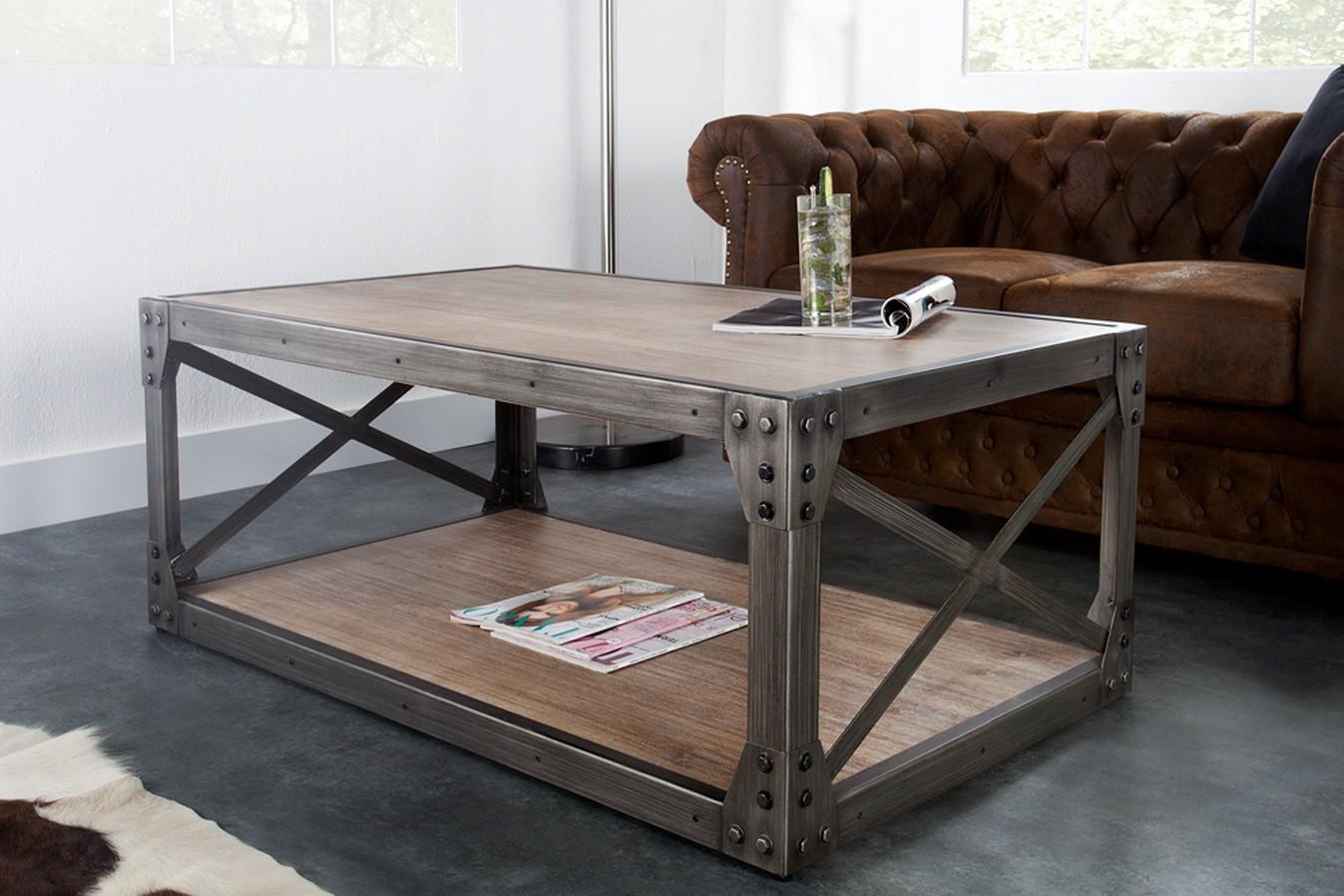 Table basse bois massif pas cher