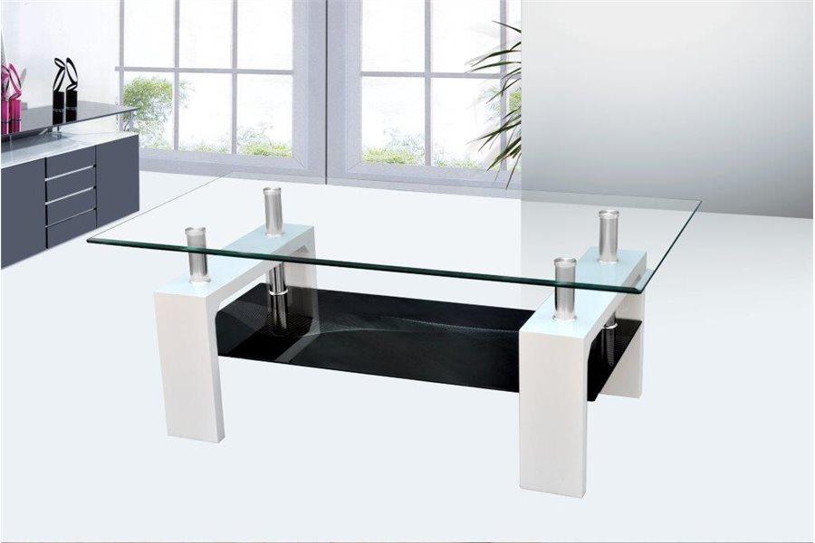 Table basse arrondi bois