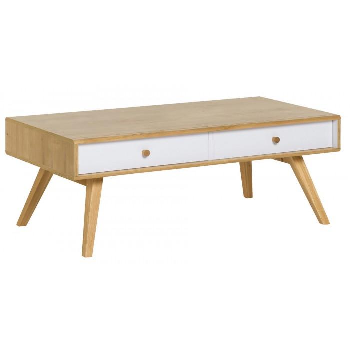 Table basse scandinave tiroir