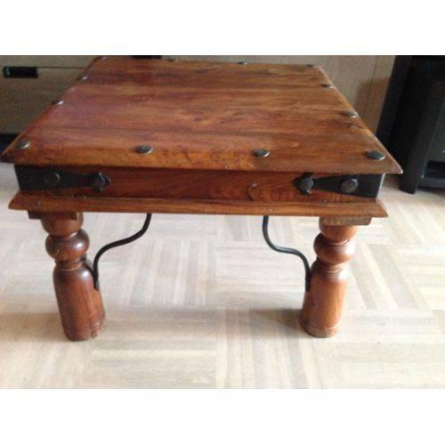 Table basse bois exotique