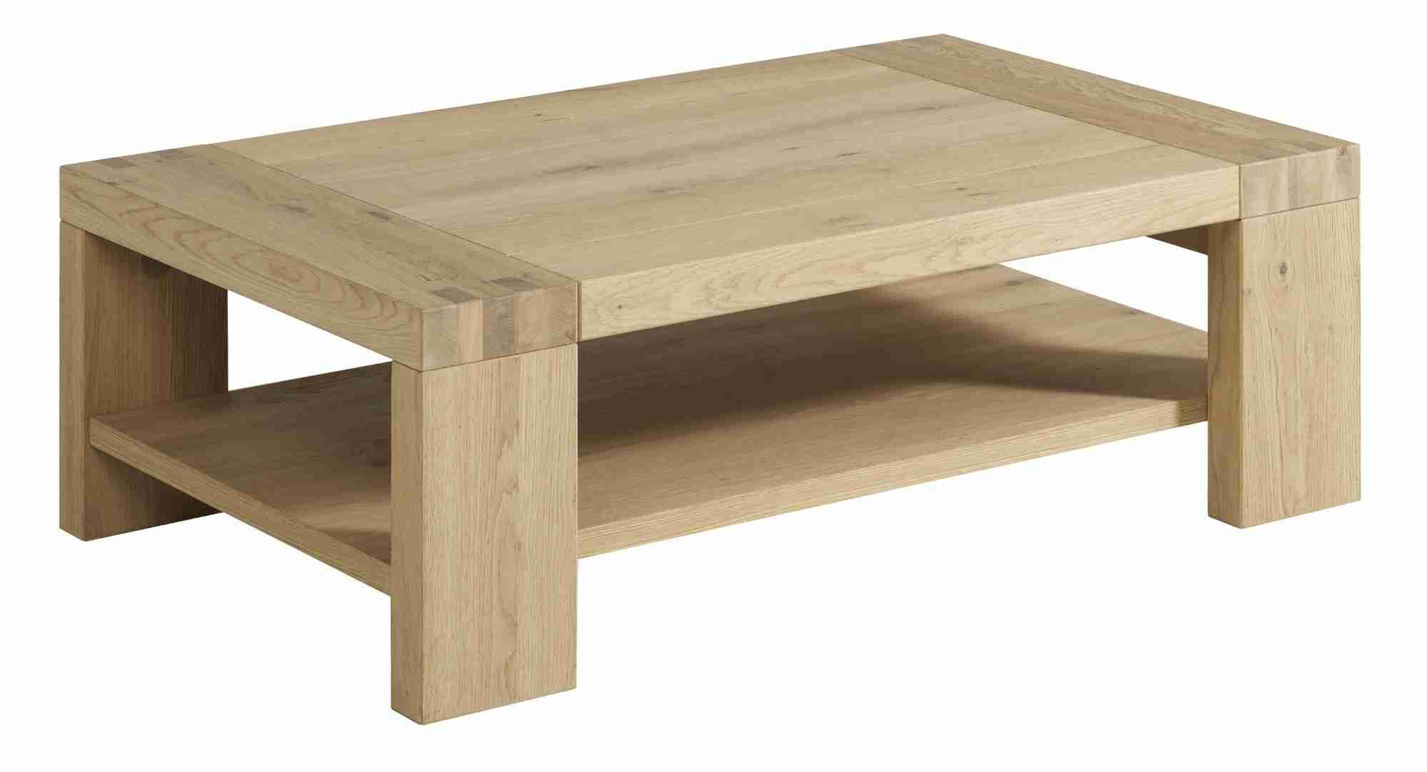 Table basse en bois pas chère
