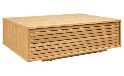 Table basse qui monte en bois