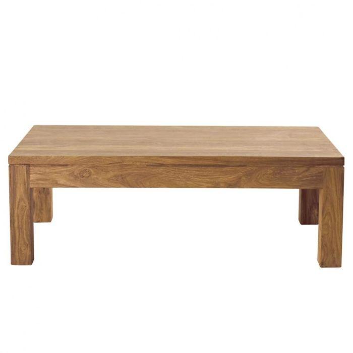 Table basse bois 140x80