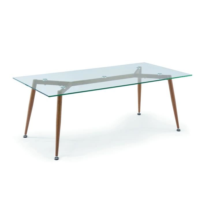 Table basse bois style scandinave