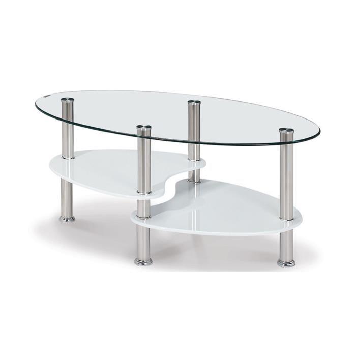 Table basse en verre olympe