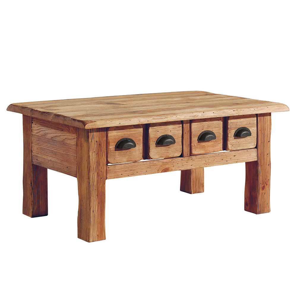 Table basse woody cocktail scandinave