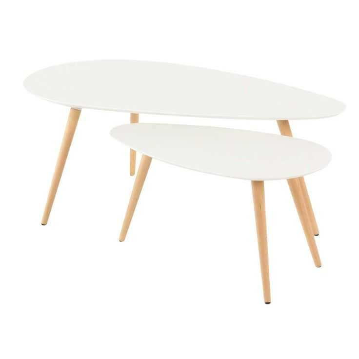 Table basse gigogne scandinave alinea