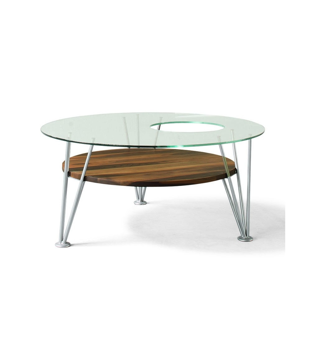 Table basse ronde h et h
