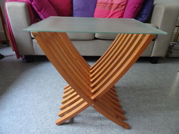 Table basse ikea orange