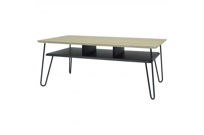 Table basse design industriel pas cher