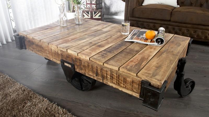 Table basse bois de manguier