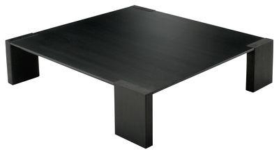 Table basse bois noire