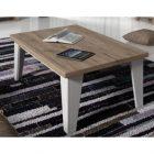 Table basse bois et couleur