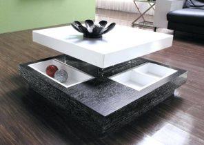 Table basse design lumineuse milazzi