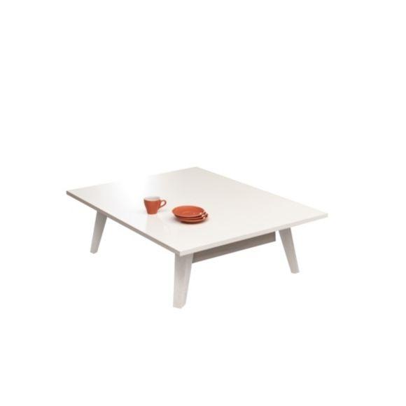 Table basse en verre camif