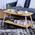 Table basse scandinave 2 etages