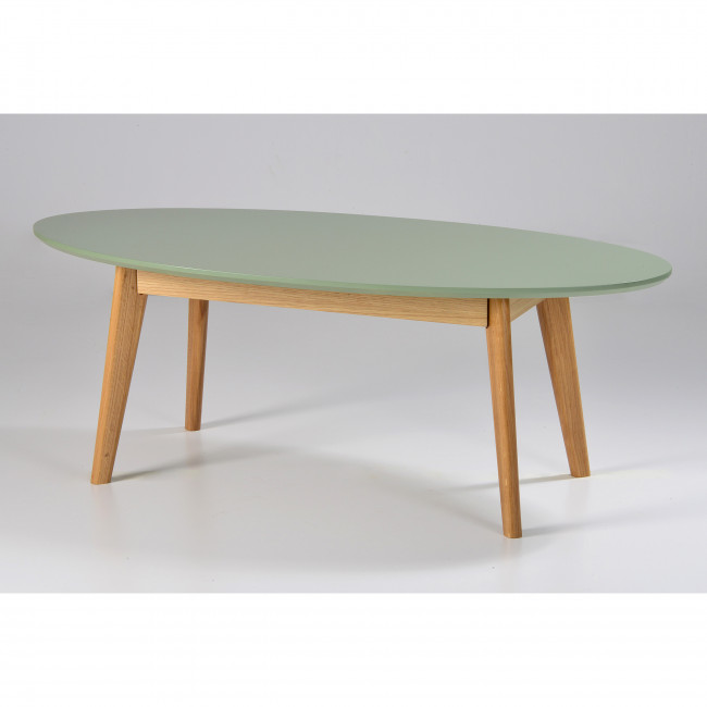 Table basse ronde scandinave metal