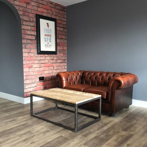 Table basse industriel palette