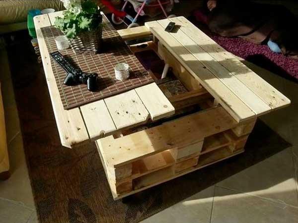Comment fabriquer sa table basse en palette