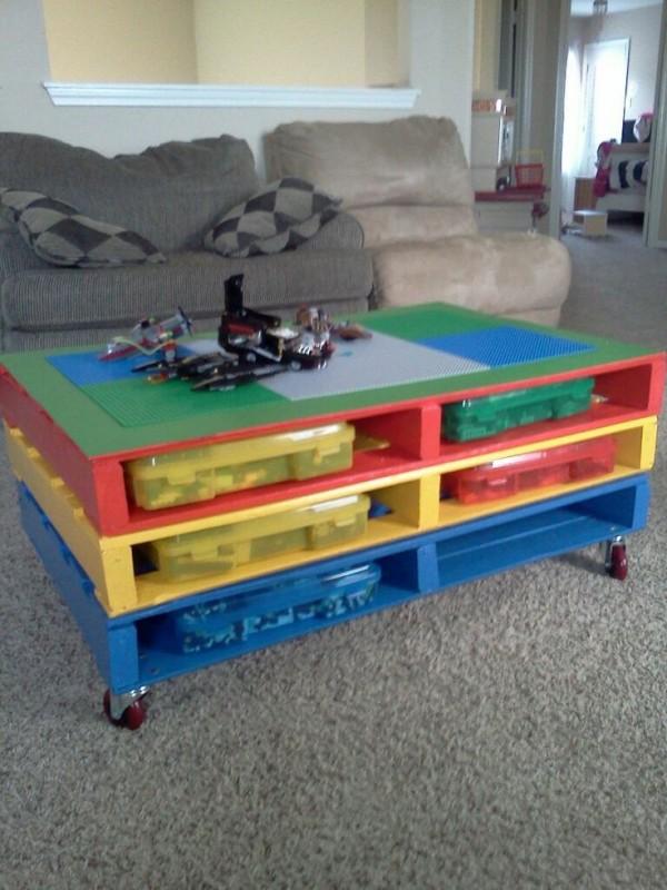 Transformer palette bois table basse