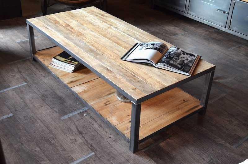 Table basse palette relevable tuto