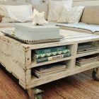 Table palette basse