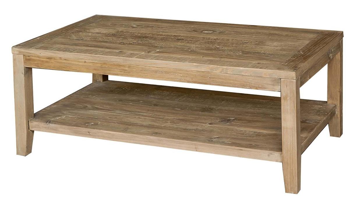 Table basse bois petit prix