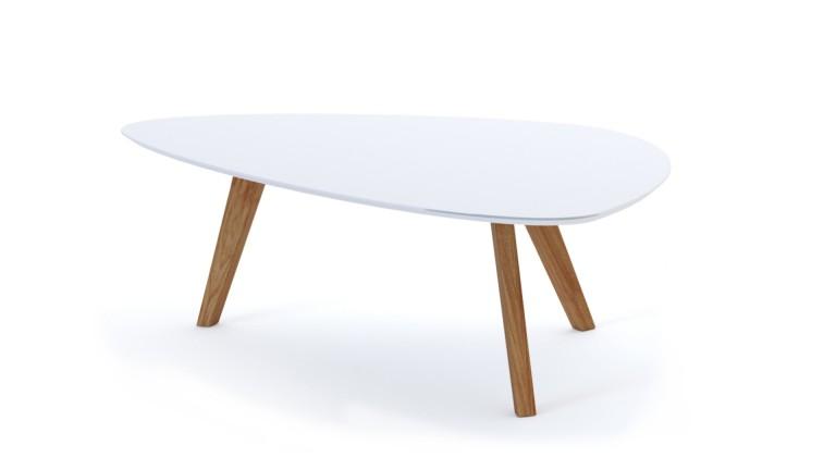 Table basse pietement bois