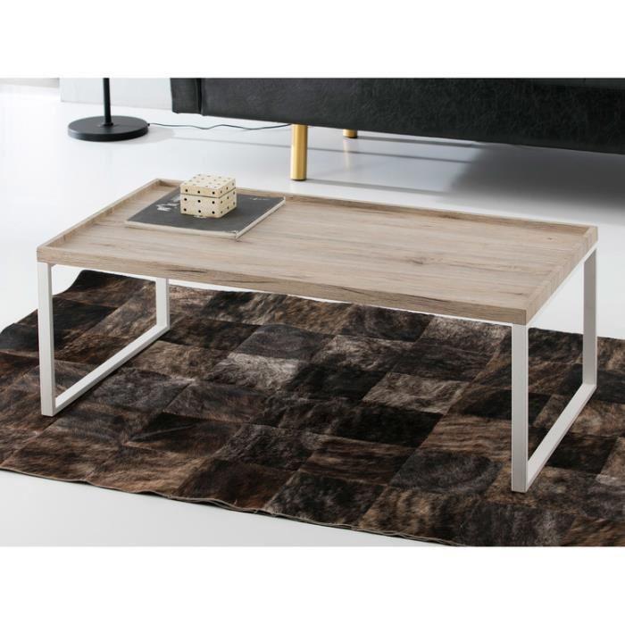 Table basse en bois original