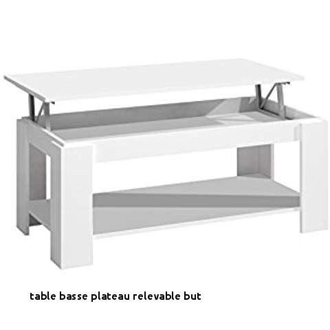 Table basse relevable extensible amazon