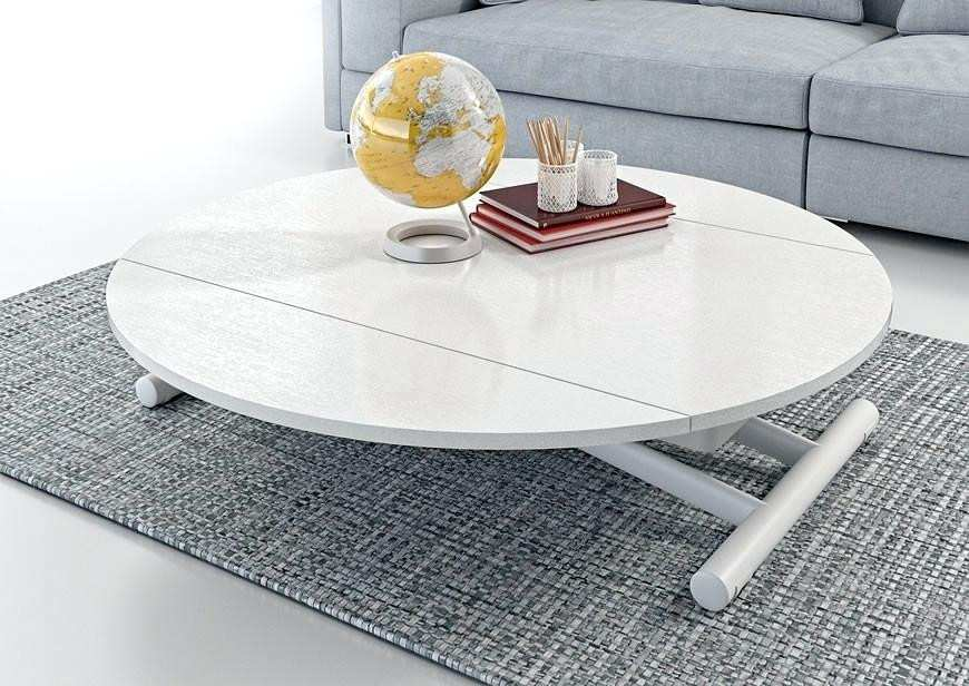 Fly table basse plateau relevable