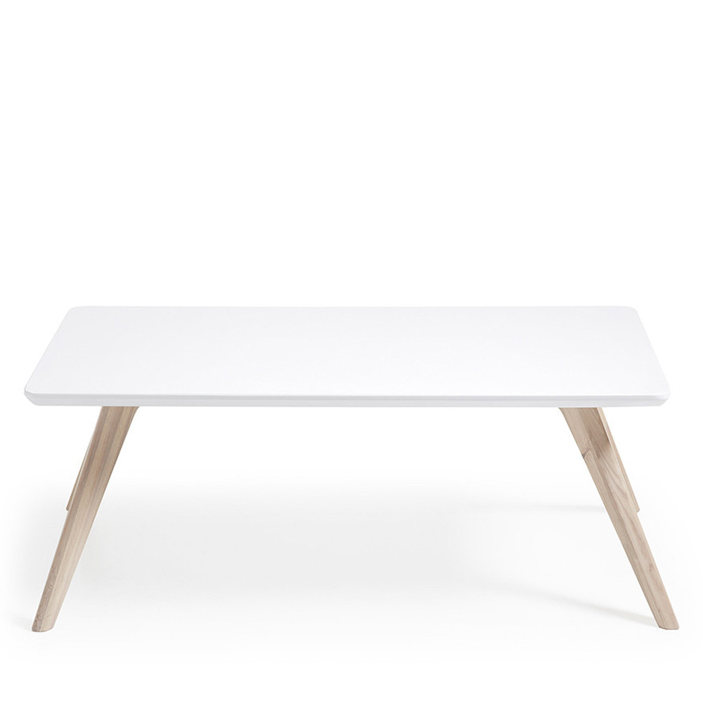 Table basse scandinave frene